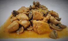Dieta Sim, todos os Dias: Frango estufado com cogumelos frescos