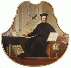 Christoph Scheiner fue un físico y astrónomo jesuita alemán, inventor del pantógrafo. Al observar las manchas solares, en Abril de 1611 descubrió las fáculas, nubes luminosas asociadas a las manchas solares. -Cristina Ramírez-