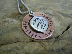 Hand Stamped Jewelry  Copper Washer Necklace by RusticJewels, $25.00