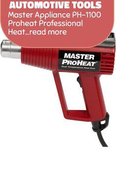 (This is an affiliate pin) Master Appliance PH-1100 Proheat Professional Heat Gun, Dual Temp 500 and 1000 Degree Fahrenheit, 120V 1300 Watts, Assembled in the USA Heat Gun, Automotive Tools, Outdoor Power Equipment, Ph, Guns, Appliances, Weapons Guns, Gadgets, Accessories