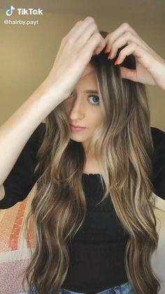 Bun Hairstyles For Long Hair, Girl Hairstyles, Easy And Cute Hairstyles, Easy Hairstyles Tutorials, Hairstyle Hacks, Hairstyles Videos, Braided Hairstyles, Hair Up Styles, Medium Hair Styles