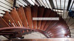 scara din lemn pe vanguri cu trepte suspendate pe corzi Opera House, Stairs, Building, Home Decor, Stairway, Decoration Home, Room Decor, Buildings, Staircases