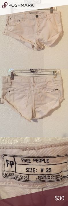 free people cut off shorts! Size 25! Free People Shorts Jean Shorts
