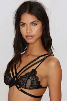 30ddcb9289 Nasty Gal Bad Vibes Harness - Criss Cross - Bras + Bralettes