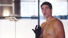 "And here is Brandon Routh, who plays Ray Palmer. | The Entire Cast Of ""Arrow"" Is Totally Killing It On Instagram"