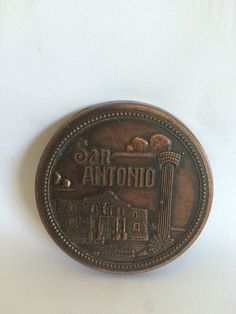Vintage San Antonio Belt Buckle