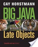 Read Books Big Java Late Objects (PDF, ePub, Mobi) by Cay S. Horstmann Complete Read Online