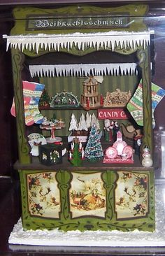 German Christmas Market Stall - yes - I am making this as soon as the kit arrives PW - can't wait!