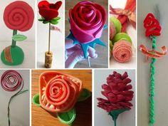 manualidades con rosas