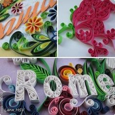 Quilling card: otkrytochku Paper. Photo 1