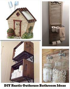 Country decor catalog outhouse