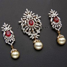 Jewellery Designs: Kothari's Jewellery Diamond Locket