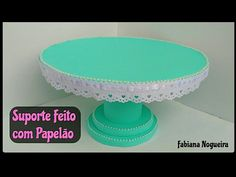 Cardboard Cakestand - step by step Videotutorial Diy Cupcake Stand, Baby Shower Deco, Chocolate Bouquet, Mini Mouse, Diy Cardboard, Flamingo Party, Diy Cake, Just Desserts, Easter Eggs