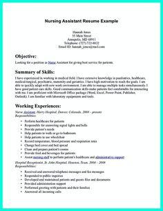 40 best caregiver resume images on Pinterest | Nursing care ...