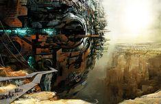 Guild Wars 2 Charr Architecture by Artist Daniel Dociu via Beautiful Life