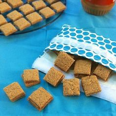 Peanut Butter Graham Crackers HealthyAperture.com