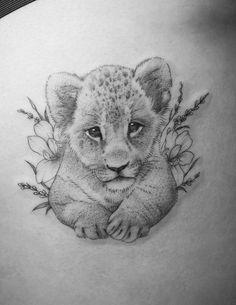 50 eye-catching lion tattoos that make you want ink - 50 eye-catching lions . - 50 eye-catching lion tattoos that make you want to use ink – 50 eye-catching lion tattoos that ma - Lioness And Cub Tattoo, Lion Cub Tattoo, Cubs Tattoo, Mens Lion Tattoo, Leo Lion Tattoos, Tattoo Eagle, Big Cat Tattoo, Cute Animal Tattoos, Cute Little Tattoos