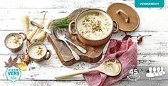 Een soep met vergeten groenten: Pastinaaksoep met Hollandse garnalen #lekkerlidl #kiesherfst