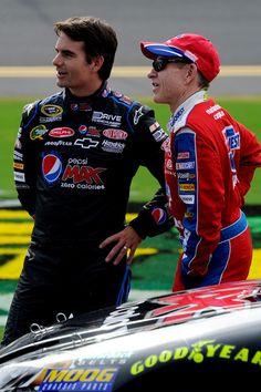 Jeff Gordon & Mark Martin