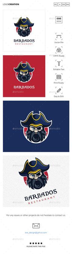 Pirate Logo #Pirate, #Logo