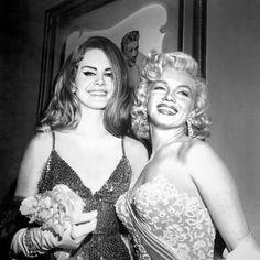 Lana Del Rey and Marilyn Monroe Marilyn Monroe, Veronica Lake, Elizabeth Woolridge Grant, Brooklyn Baby, Indie, Norma Jeane, Rowan Blanchard, Sabrina Carpenter, Looks Cool