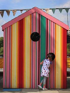 Painted Stripes Ideas From casasugar.com