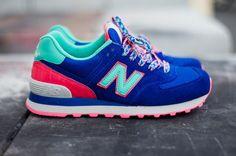 New Balance 574 - Blue Candy