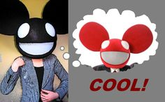 The famous deadmau5 icon has evolved over the years. This tutorial explains how to make a deadmau5 head like the red one worn with a business suit. The...