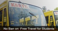 School students can continue free travel in KSRTC