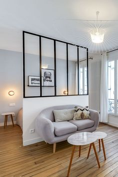 Living room decor: Over 50 photos to set the mood - Home Decor Small Apartments, Small Spaces, Deco Studio, Studio Room, Small Apartment Interior, Interior Styling, Interior Design, Inside Design, My New Room