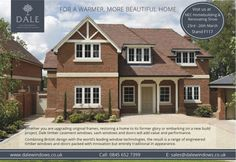 Traditional brick, roof and window style Sash Windows, Casement Windows, Windows And Doors, Brick Roof, Window Styles, New Builds, Beautiful Homes, Building A House, Restoration