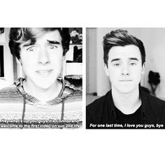 Yesterday was Connor's last video on O2L