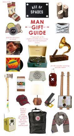 Lay Baby Lay: man gift guide