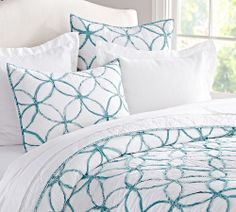 Decorate with a touch of turquoise.