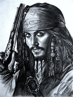 Pirates of the Caribbean, Jack Sparrow, deviant art