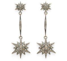 Par de brincos de Ouro Nobre 18K com diamantes cognac - Coleção Stars Link:http://www.hstern.com.br/joias/p-produto/B1B163749/brinco/stars/par-de-brincos-de-ouro-nobre-18k-com-diamantes-cognac---colecao-stars