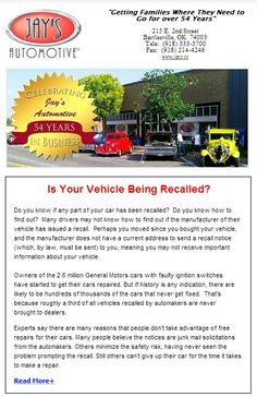 Is your #Car being #recalled?