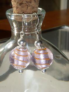 Red Swirl Hook Earrings by Baublebys on Etsy, $18.00
