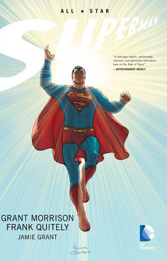 Superman fans will have a hard time saying no to this dream team author-artist combo of Grant Morrison and Frank Quitely. The stories Grant Morrison writes are timeless that every Superman fan will en