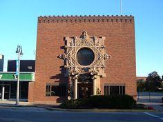 Merchants National Bank. 1914. Grinnell, Iowa. Louis Sullivan