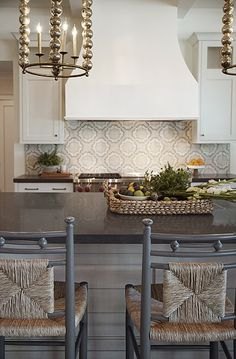 Kitchen & Fireplace - Heather Ryan, Interior Designer - Phoenix, AZ www.hryanstudio.com