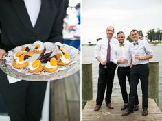 Even the hors d'oeuvres kept with the colorful theme! | tPoz Photography
