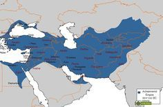 Persian Empire Map, King Of Persia, The Shah Of Iran, Cyrus The Great, Sassanid, Achaemenid, Ancient Persian, Asia, Fantasy Map