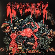 Autopsy, Mental Funeral****: Hands down, this is the best death metal I've listened to up to this point in my death metal listening career. That being said, it hasn't been that long, but I have grown to really appreciate it. Anyway, this continues that anger catharsis I started with the previous album, and I couldn't have asked for a better album for that. It was astounding on all fronts. 2/11/15