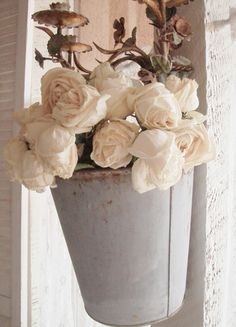 . . . Cabin & Cottage : Old China & White Roses