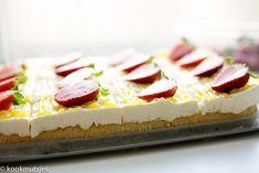 frisse lemoncurd taart | Kookmutsjes