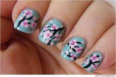cherry blossom nail art design Did my nails Colorful Nail Designs, Nail Art Designs, Nails Design, Design Art, Design Ideas, Cherry Blossom Nails, Cherry Blossoms, New Years Nail Designs, Tree Nails