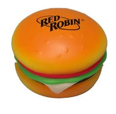 Red Robin Hamburger Toy