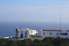 Graciosa, Azores, Portugal church atop Monte de Ajuda