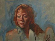 "Daily Paintworks - ""Attitude"" - Original Fine Art for Sale - © Robin Wellner"
